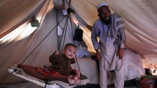 Desplazados en Waziristán del Norte