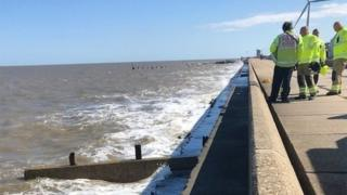 Lowestoft coast
