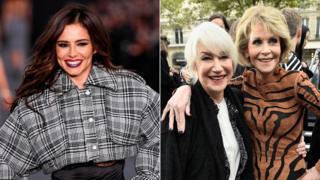 Cheryl Cole, Dame Helen Mirren and Jane Fonda