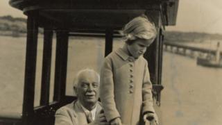 David Lloyd George and Jennifer Longford