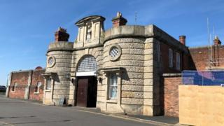 Prison site
