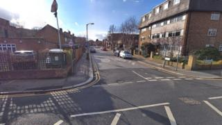Trinity Road's junction with South Park Road
