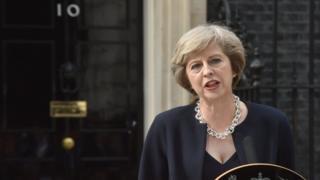 New UK MP Theresa May