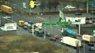 Belfast traffic