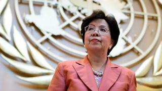 Margaret Chan, director-general of the World Health Organisation