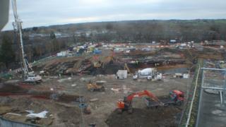 The Westgate construction