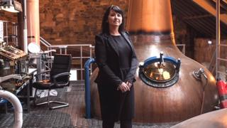 Patricia Dillon is managing director of Speyside Distillers in Scotland