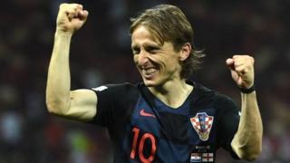 लुका मोद्रिच, फ़ुटबॉल वर्ल्ड कप 2018, विश्व कप फ़ुटबॉल 2018, क्रोएशिया फ़ुटबॉल