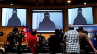 Пресс-конференция канадской полиции