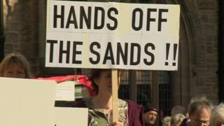 Protest in Durham