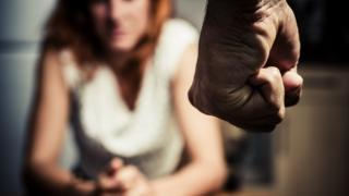 Ilustración de abuso doméstico