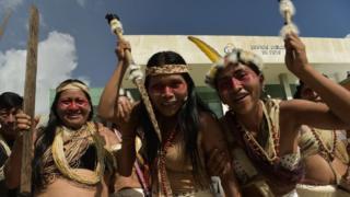 Los waorani festejaron la decisión que confirma su derecho a ser debidamente consultados sobre el uso de sus tierras.