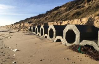 environment Hemsby sea defences 2018
