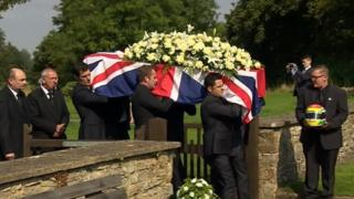 Funeral of Justin Wilson