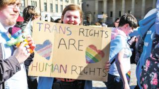 The 2019 Trans Pride march in Dundee