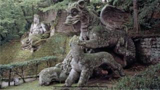 باغ مقدس بومارتزو؛ خانه هیولاهای اسرارآمیز