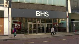 The former BHS store in Belfast