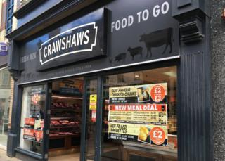 Crawshaws shop