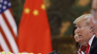Trump'ın 2017'deki Çin gezisinden