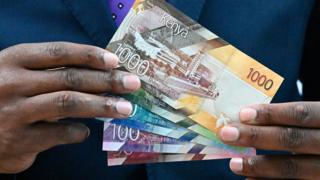 New Kenyan notes