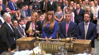 Tellers in House of Commons