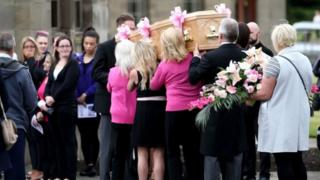 Kirsty Aitchison funeral