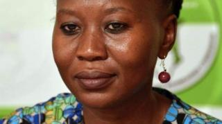 Roselyn Akombe na senior official for Kenya electoral commission.