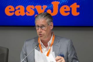 Easyjet boss, Johan Lundgren