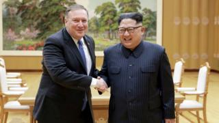 Mike Pompeo meets Kim Jong-un - 9 May