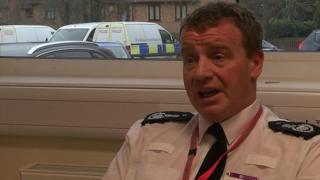 Adrian Davies, Northamptonshire's acting chief fire officer