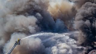Guernsey fire
