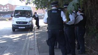 Met police officers in Violent Crime Taskforce