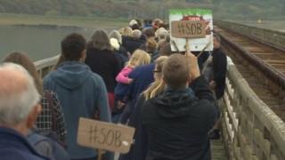 Protestwyr y Bermo
