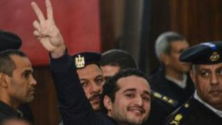 أحمد دومة كان من أبرز وجوه ثورة 25 يناير/ كانون الأول 2011 التي أطاحت بالرئيس حسني مبارك