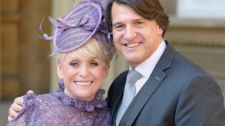 Dame Barbara Windsor and her husband Scott Mitchell
