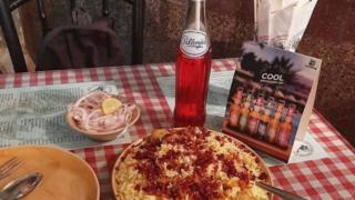 Pallonjis raspberry soda