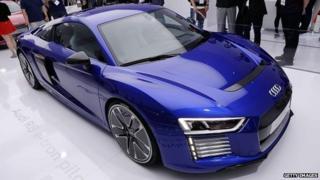 Audi prototype driverless car