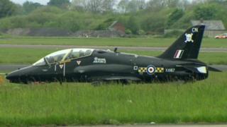 RAF planes at Aldergrove