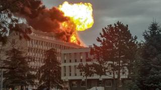 Взрыв в университете Лиона