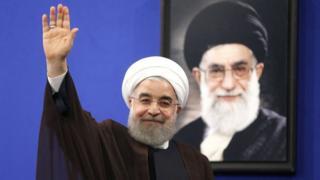 حسن روحاني بعد فوزه لولاية ثانية