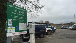 Castle St car park, Taunton