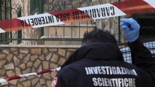 Forensic investigator file pic