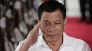 Президент Филиппин Родриго Дутерте