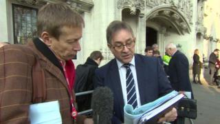 David Cornock and Mick Antoniw