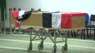 Mariam Moustafa Egypt funeral