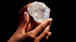 Almasi iliyopatikana nchini Botswana yauzwa kwa dola milioni 53
