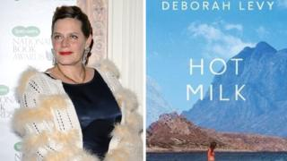 Deborah Levy and Hot Milk book cover