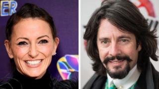 Davina McCall and Laurence Llewelyn-Bowen