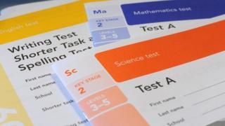 Sats test paper