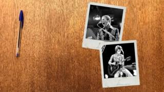 Фотографии Элтона Джона и Дэвида Боуи